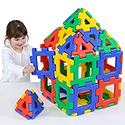 Polydron Giant Set Educational Construction Toy Suitable for Children 2+ Years Old