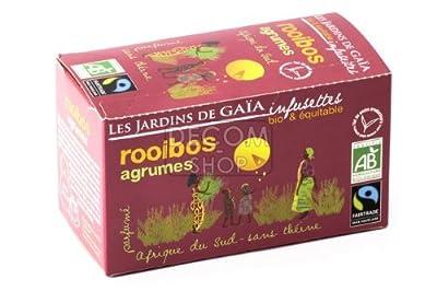 Infusettes de Rooibos Agrumes - boîte 30g