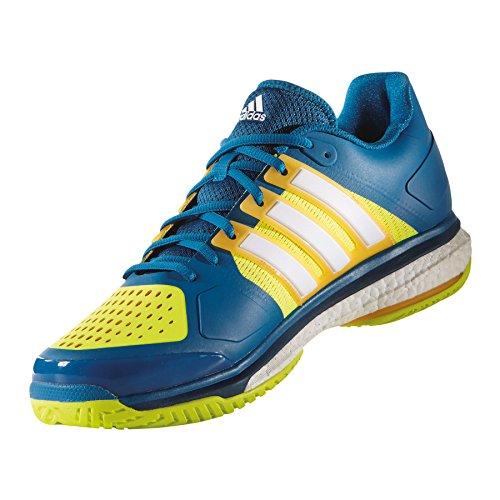 adidas Energy Boost, Chaussures de Tennis Mixte Adulte Bleu - Varios colores (Azul (Azuuni / Ftwbla / Amasol))