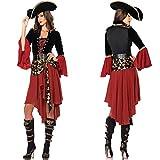 DLucc Fluch der Karibik Königin Kleid Halloween-Kostüme extravagante Kostüme cosplay Piraten Ausrüstung