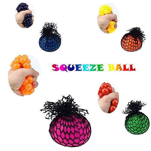 loured pädagogische Masche spielt kreatives zusammendrückendes Stress-Helfer-Spielzeug (Grün) ()