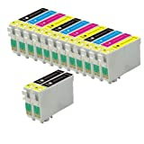 Office Supplies Best Deals - Odyssey Supplies - Cartucho de tinta compatible con impresoras Epson Stylus (modelos: sx420, sx425w, sx435w, sx440w, sx445w, sx525wd, sx535wd, sx620fw, bx925fw, office b42wd, bx305f, bx305fw, bx320fw, bx525wd, bx535wd, bx625fwd, bx635fwd, bx925fwd, bx935f