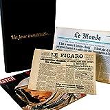 Journal anniversaire d'une date de naissance - certifié 100% authentique - issu des archives de la presse française...