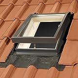 Mehrzweckfenster, Dachausstieg, Kaltraumfenster - für nicht beheizte Räume 45x55 cm - Dachluke, Ausstieg, Dachfenster für