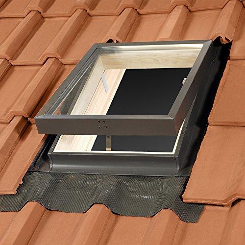 Solstro Mehrzweckfenster, Dachausstieg, Kaltraumfenster - für nicht beheizte Räume 45x55 cm