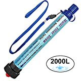 Best Backpacking Filtres à eau - DeFe Filtre Eau Personnel 2000L Système de Filtration Review