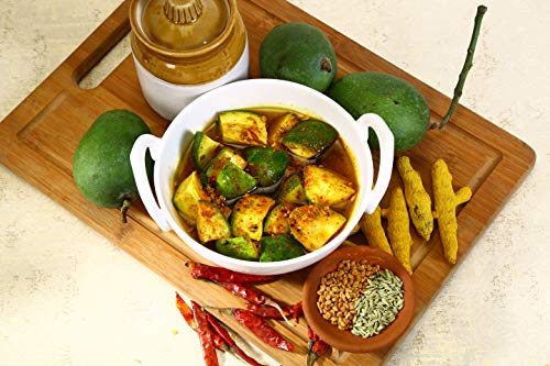 Ajnala Amritsari Pickles, 400 GMS (Mango Pickle Flavour)