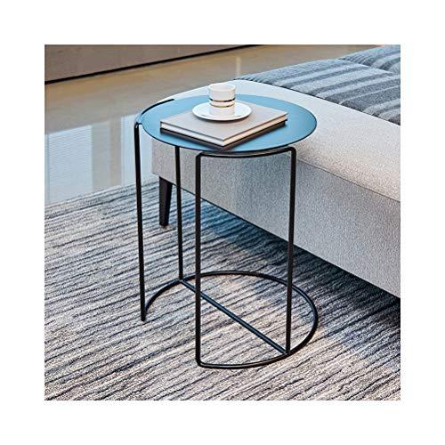 End Tables Einfache Beistelltische Sofa Beistelltisch Modernen Nordischen Stil Mode Kreative Schmiedeeisen Wohnkultur, 38X50 cm 0628 - Modern Geformte Beistelltisch