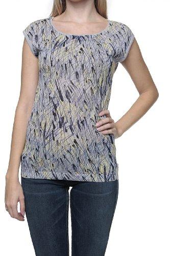 Custo Barcelona Damen Shirt Kurzarm-Shirt Sonar Gea, Farbe: Grau, Größe: S
