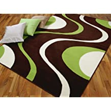 Tapis de salon vert for Amazon tapis de salon