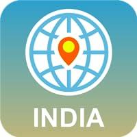 India Mapa Desconectado