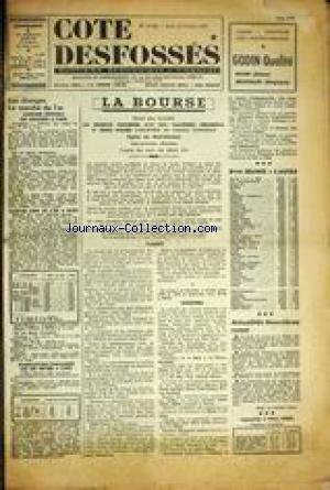 COTE DESFOSSEs [No 14782] du 15/10/1959 - LA BOURSE - LES CHANGES - LE MARCHE DE L'OR.