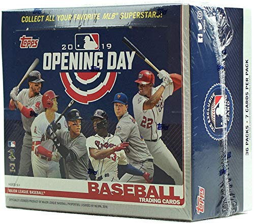 Topps 2019 Opening Day Baseball Hobby Box MLB