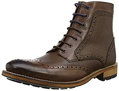 2bf0b0794 Ted Baker Mens Sealls 3 Brogue Ankle Boot  Amazon.co.uk  Shoes   Bags