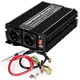 TecTake Convertisseur de Tension Sinus modifiée Power Inverter 12V en 220V 1000W 2000W