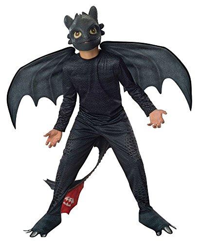 t gemacht Kinder Kostüm Drache Ohnezahn Gr.3-4J. (Leicht Gemacht Halloween Kostüme)