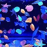 Yongse Fish Tank Paisaje del resplandor luminoso acuario Piedras Piedra Decorar peces tortuga del tanque