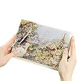 Carnet Aquarelle carnet de Voyage Note book de Croquis Miste Forest Journal Intime Cahier DIY avec Vignette de peinture