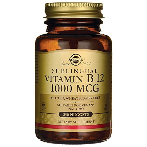 Solgar Vitamin B12 1000 mcg - 250 Nuggets