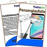 tomaxx Panzerglas Samsung Galaxy A6 Plus 2018 A6+ Glas Panzerfolie Schutzfolie Glasfolie Displayschutz