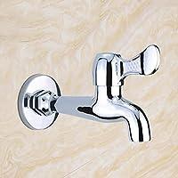 Lingyun Robinet- Robinet Cuivre simple froid dans le robinet Piscine mur Mop Accessoires de bain