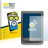 2x BROTECT Matte Film Protection pour PocketBook Touch Lux 3 Protection Ecran - Mat, Anti-Réflets
