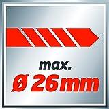 Einhell Bohrhammer TC-RH 900 (900 W, 3 J, Bohrleistung in Beton 26 mm, SDS-Plus-Aufnahme, Metall-Tiefenanschlag, Koffer) Vergleich