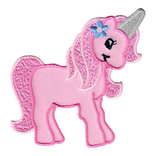 Patchmommy toppa termoadesiva unicorno patch ricamate per ferro da stiro - applicazioni toppe termoadesive bambini
