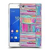Head Case Designs Offizielle Ninola Multi Farbige Lineen Geometrisch Soft Gel Hülle für Sony Xperia Z3