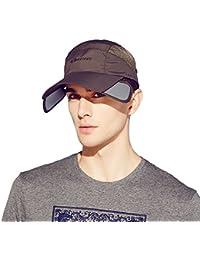 Kenmont Casquette de Baseball en Plein Air Anti-UV Visière Chapeau de Soleil est l'été des Hommes