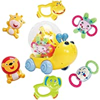 EARSOON - Juego de Herramientas Musicales de Regalo para bebés recién Nacidos, Color Amarillo, sin tamaño