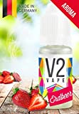 V2 Vape Strawberry Concentrate alta dosis de sabor a comida premium 10ml 0mg libre de nicotina