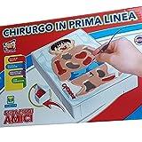 TrAdE shop Traesio® CHIRURGO IN PRIMA LINEA ALLEGRO VIBRAZIONE ABILITA' 2 A 4 GIOCATORI PRECISIONE