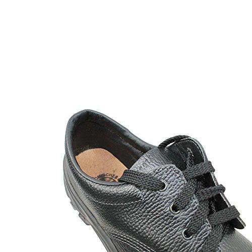 EcoTech berufsschuhe businessschuhe chaussures s1P chaussures de sécurité chaussures plates noir Noir