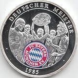 Medaille FC Bayern München Polierte Platte Deutscher Meister 1985 (Münzen für Sammler)