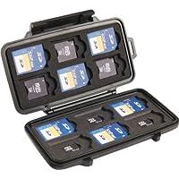 Pelican 0915 Memory Card Case Negro funda para tarjeta de memoria - fundas para tarjetas de memoria (Negro, 100 g)