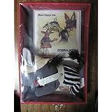 Zippyr The Zebra-Key- CD And Stuffed Animal By Childcharmers