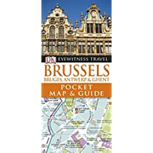 DK Eyewitness Pocket Map and Guide: Brussels