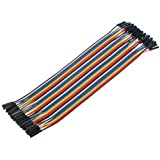 ApTechDeals Jumper Wires Female to Female/breadboard jumper wires (FF 40)