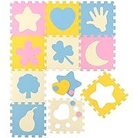 Tappeto Puzzle per Bambini | in Soffice Schiuma EVA | Tappetino Gioco per la Cameretta