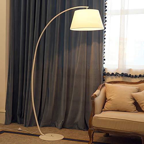 ZSAIMD Modern, Metall, Bogenstil Designer Stehleuchte mit einem Zylinder Shade Stehleuchten Art Deco Moderne Stehleuchten Wohnzimmer Schlafzimmer Nordic Heimbeleuchtungskörper Kopfenden E27