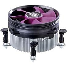 Cooler Master X Dream i117 - Ventilador de CPU (0.18 A, 2.16 W, 12 V, aluminio), color violeta