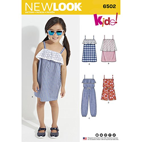 Die Beste New Look Schnittmuster 6502 Kinder Overall/Strampler und ...