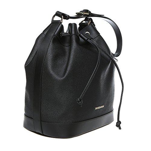 Trussardi borsa secchiello a spalla grande da donna con for Amazon borse firmate