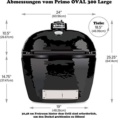 Primo OVAL 300 Large Keramik Grill - 3