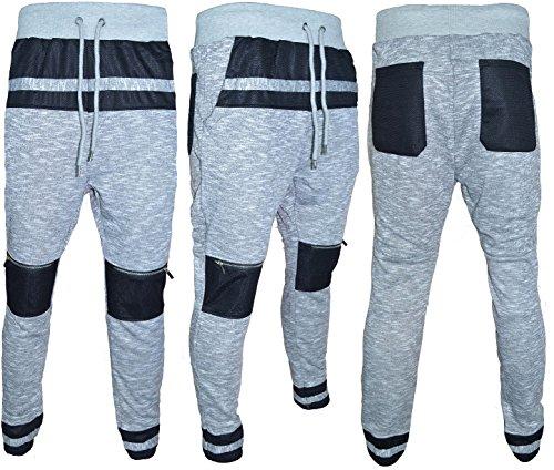 SoulStar -  Pantaloni sportivi  - Uomo Light Grey