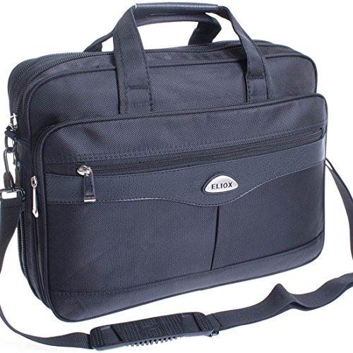 * Blu * XXL borsa a tracolla volo accompagnavano business Custodia oxs lurenzo al lavoro o in borsa nero 3