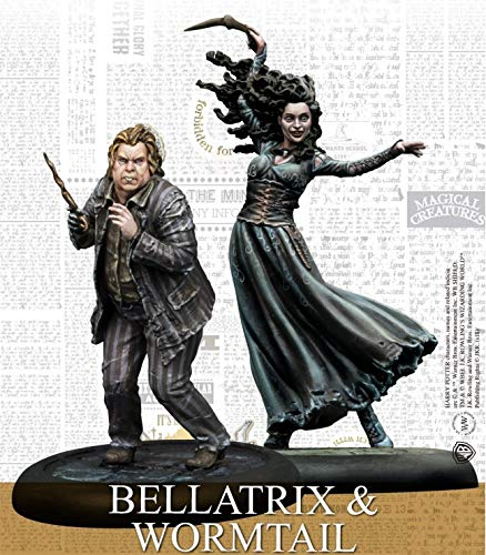 Knight Models Harry Potter: Bellatrix & Wormtail (KNG-HPMAG05)