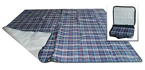 Multifonction tapis de pique-nique hamac bleu foncé (hamac et tapis, coussin multi-usages)