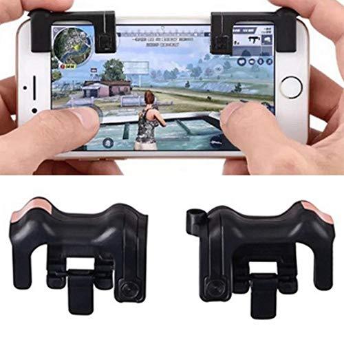 Mobile Game Controller, Sensitive Shoot und Zielschlüssel L1R1 Shooter Controller für PUBG/Fortnite/Regeln des Survival,Handy Game Controller Hilfe Joysticks für Android iOS Type 2